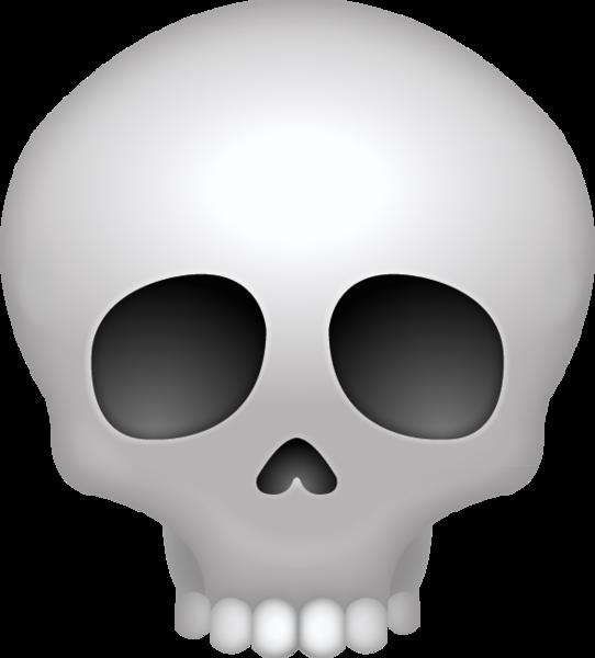 Ssckull clipart emoji #2