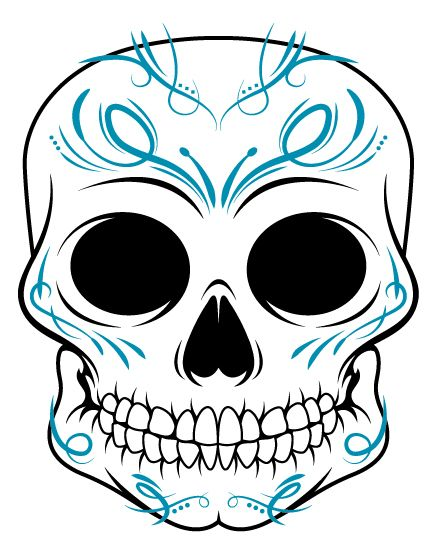 Ssckull clipart friendly Dead images of quilt on