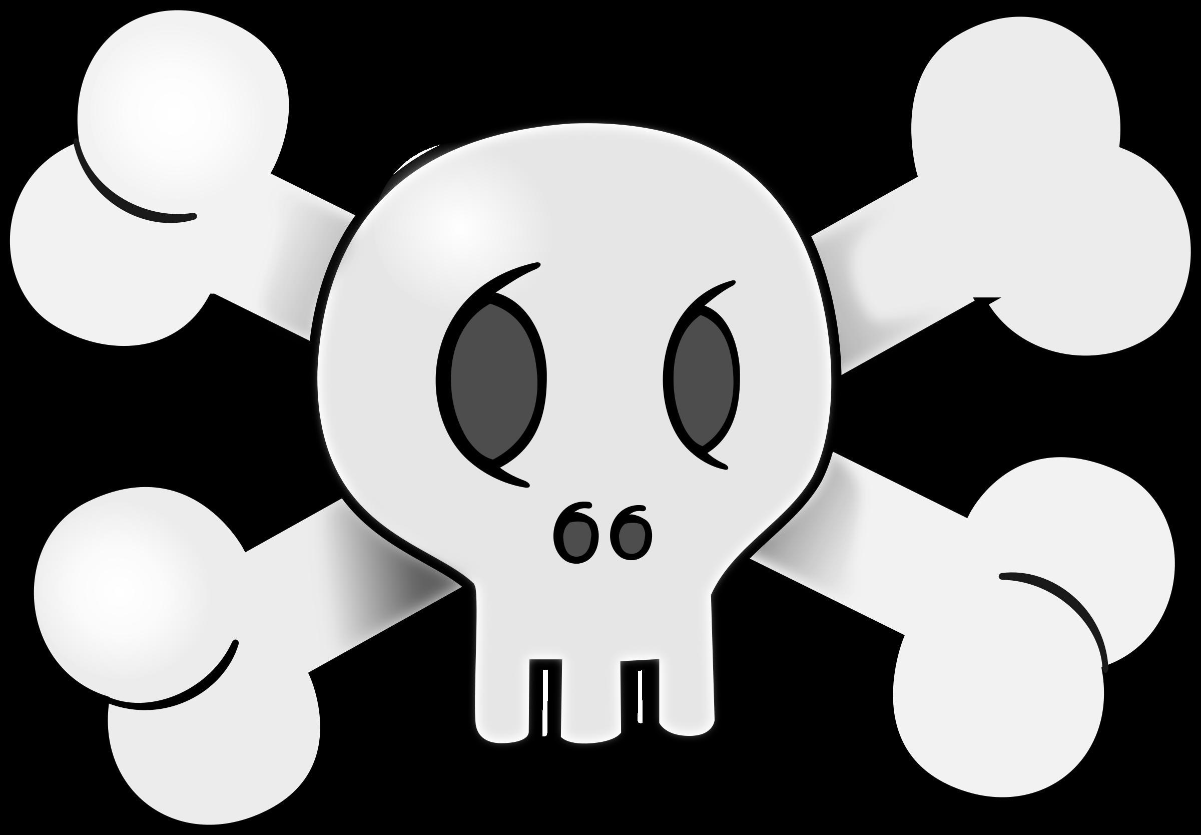 Ssckull clipart friendly Clipart Skull Skull