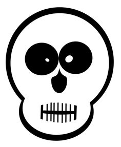 Ssckull clipart friendly Skull Skulls face Forest goofy