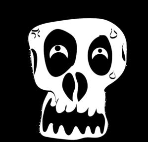 Sleleton clipart silly Art vector  art Skull