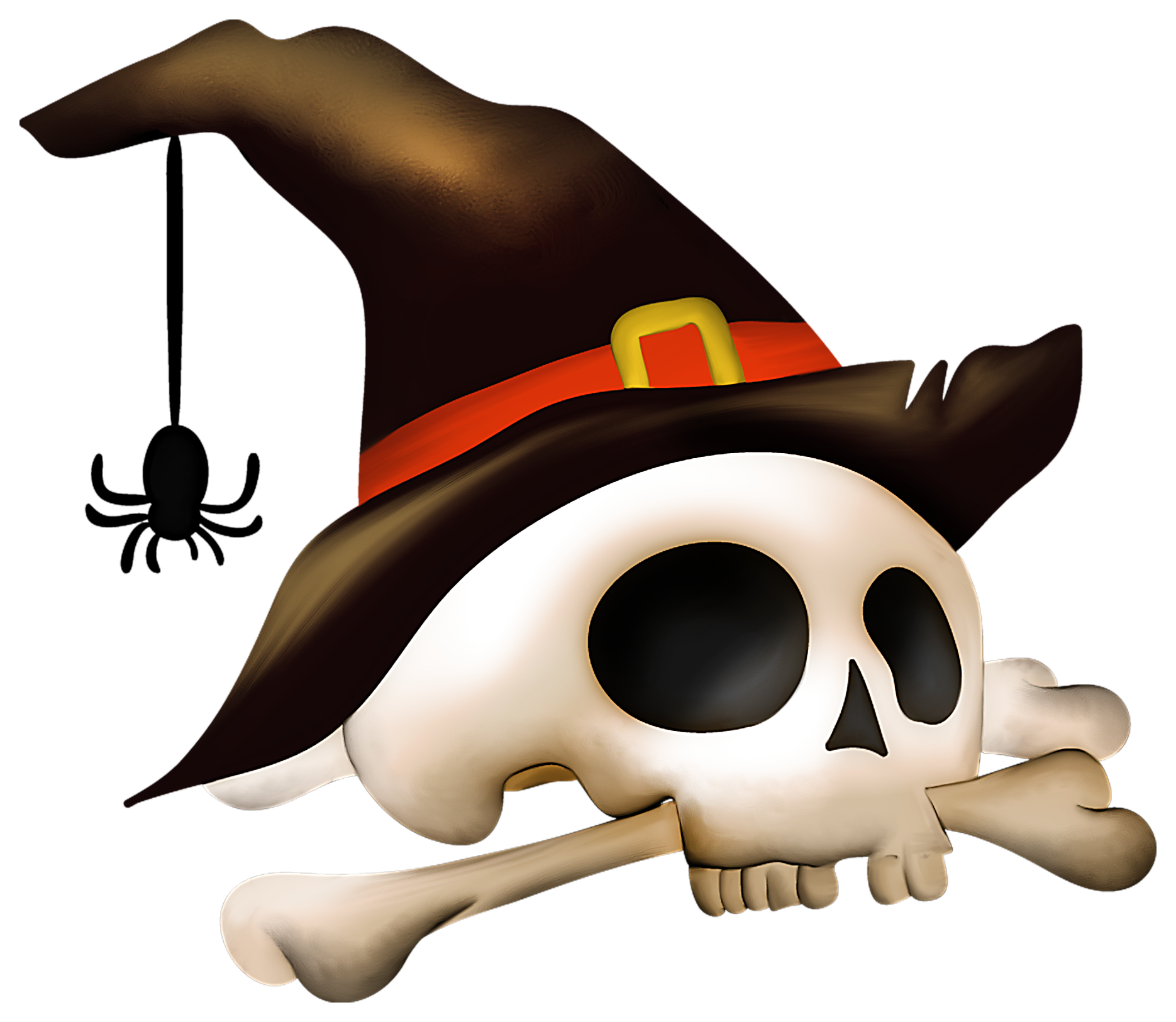 Witch Hat clipart halloween skull Skull with Clip Gallery Tags: