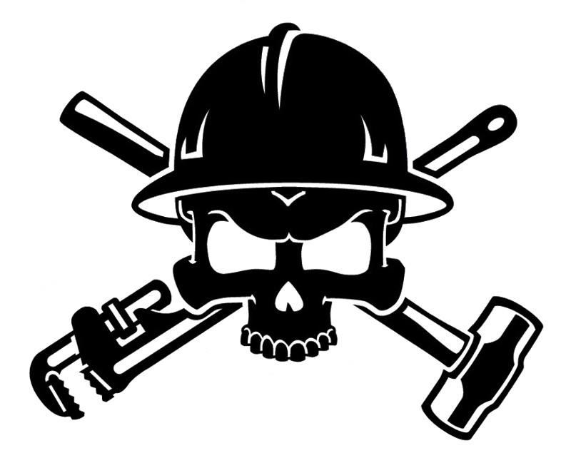 Skulls Clip  Skull Hats