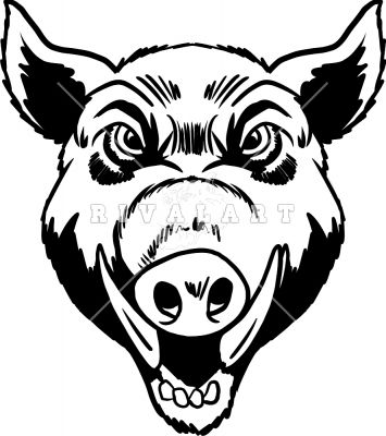 Ssckull clipart hog Head images about Style 17