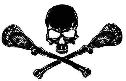 Ssckull clipart lacrosse #6
