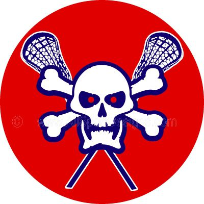 Ssckull clipart lacrosse Lacrosse decals skull stickers reward