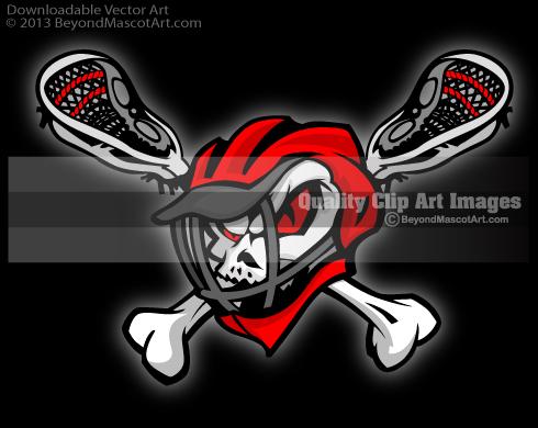 Ssckull clipart lacrosse #2