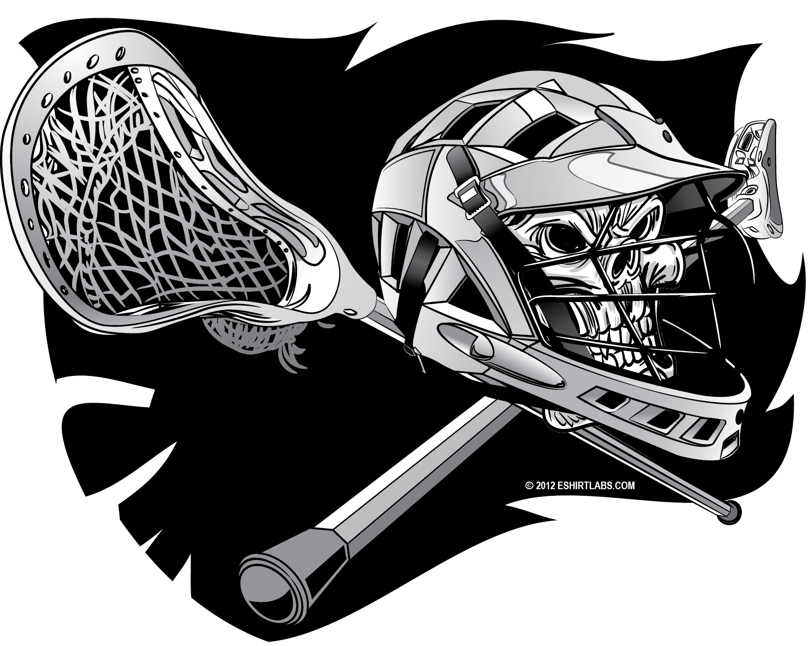 Ssckull clipart lacrosse Scott James on by Free