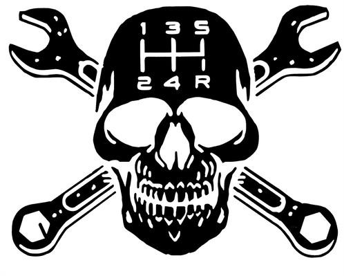 Ssckull clipart mechanic 6