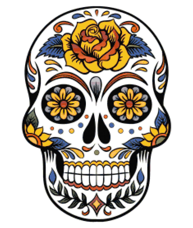 Ssckull clipart mexican skull Skull Sugar Cliparts Free Clip