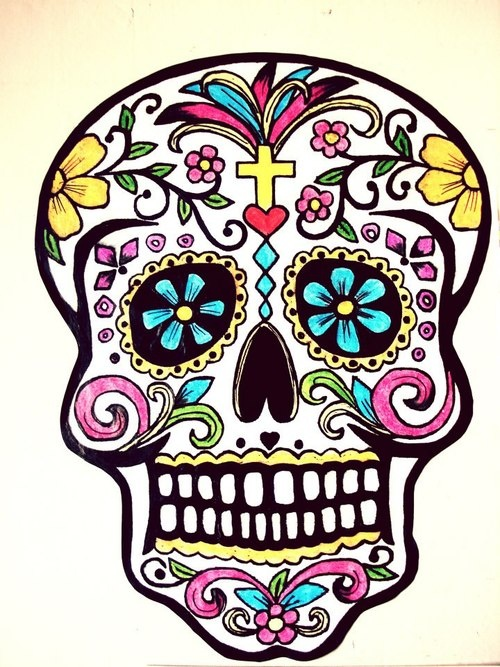 Ssckull clipart mexican skull Clipart Mexican library Download on