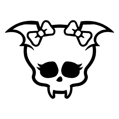 Ssckull clipart monster high Clipart High Clipart Skull High