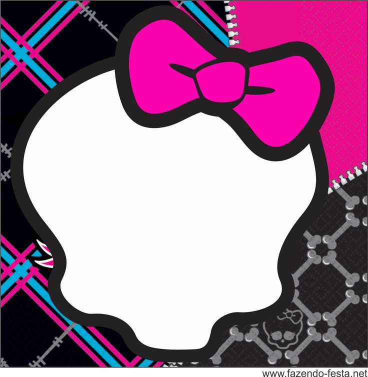 Ssckull clipart monster high Best images PARTIES? it Free