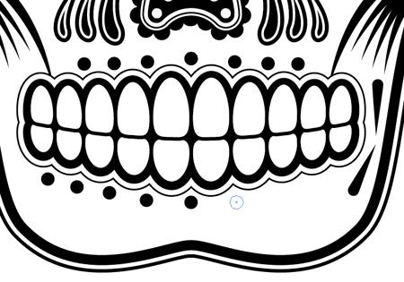Sugar Skull clipart symmetrical Art clipart  Skull Sugar