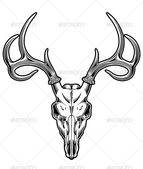 Buck clipart mean Head Deer Whitetail Pinterest 5883549