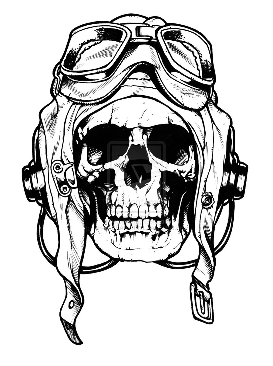Ssckull clipart pilot Look even Don't like this