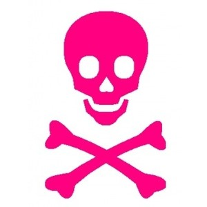 Ssckull clipart pink #8