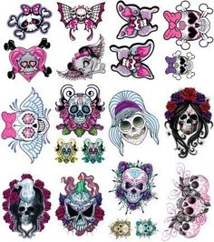 Ssckull clipart pink #15