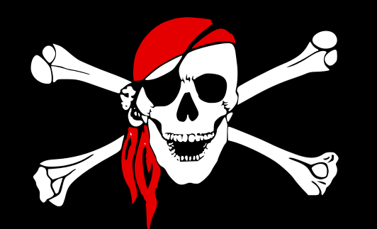 Ssckull clipart pirate skull Download Pirate Flag Clip And