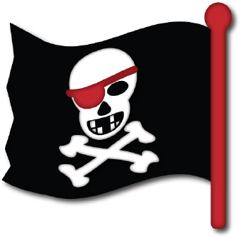 Ssckull clipart pirate skull Free Clip Clipart Pirate on