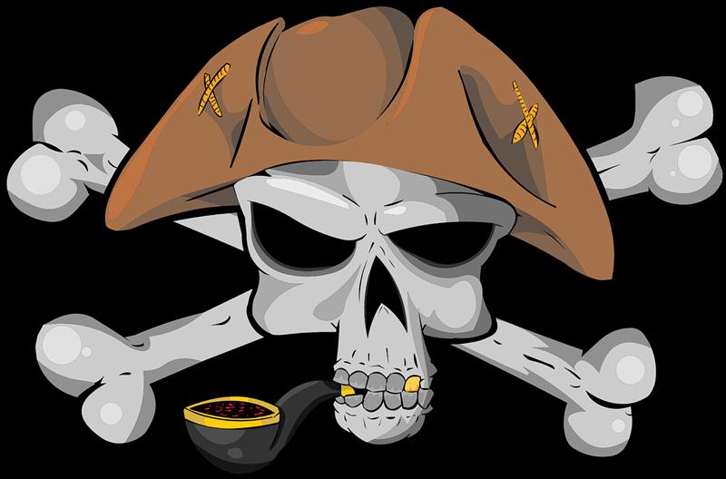 Ssckull clipart pirate skull Domain Clip Public Free Art