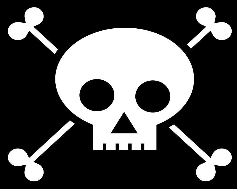 Ssckull clipart pirate skull Art Clip Clip Skull