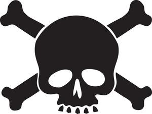 Ssckull clipart poison Skull poison clipart clipart poison