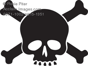 Toxic clipart skull and crossbones Of Clipart and Silhouette Illustration