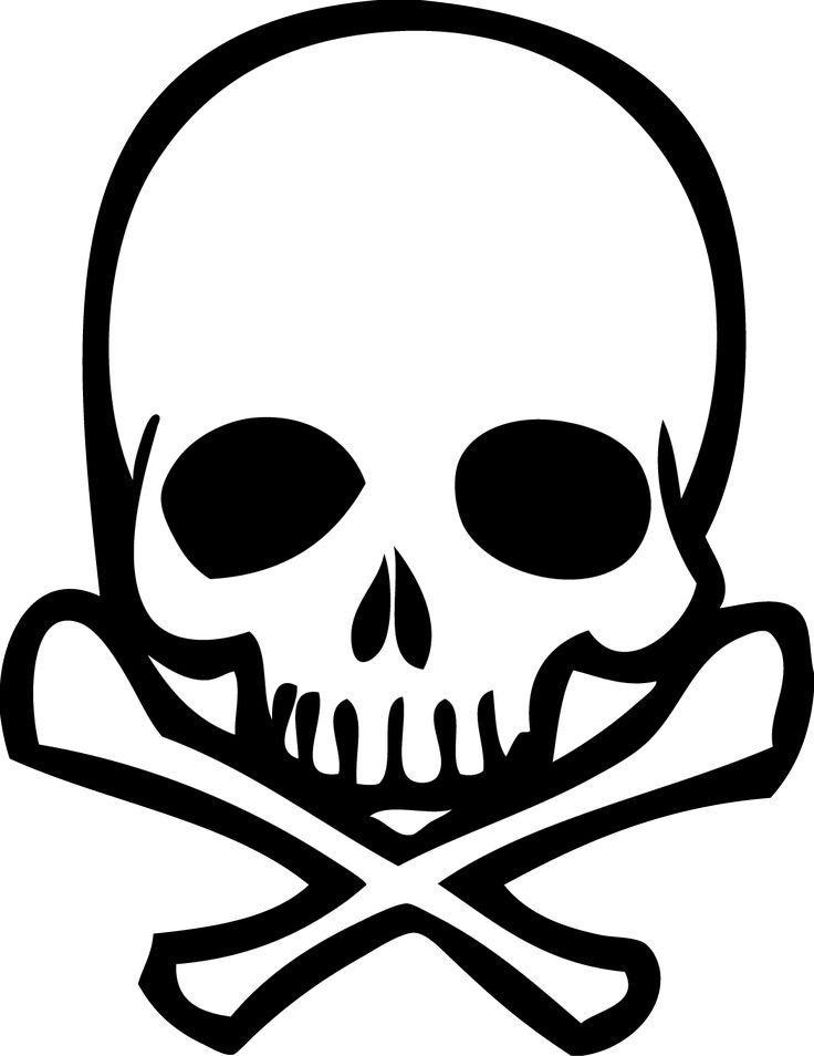 Drawn skull simple 20+ Simple Find Pin this