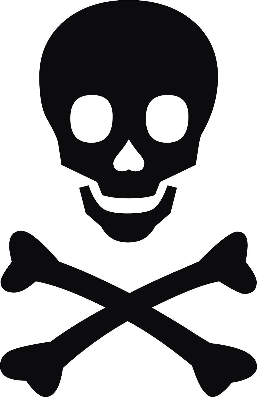 Toxic clipart skull and crossbones Clip Skull Bones Free And