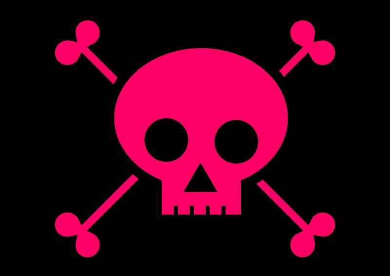 Deadth clipart crossbone Free Free Art Skull Free