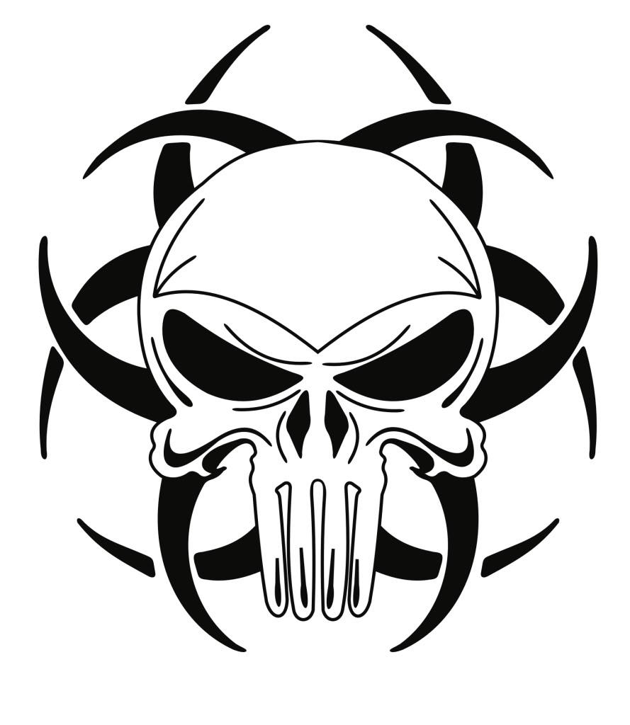 Biohazard clipart tribal Clip Drawing Art Free Clip