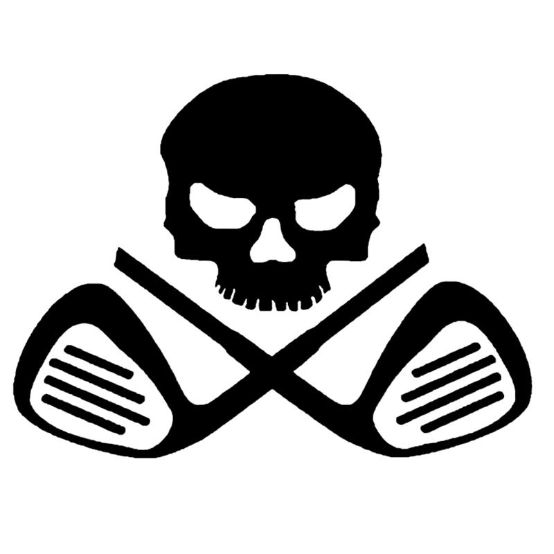 Plate skull skull Golf Window