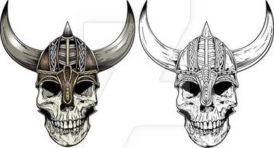 Ssckull clipart viking Skull on Skull by rawclips