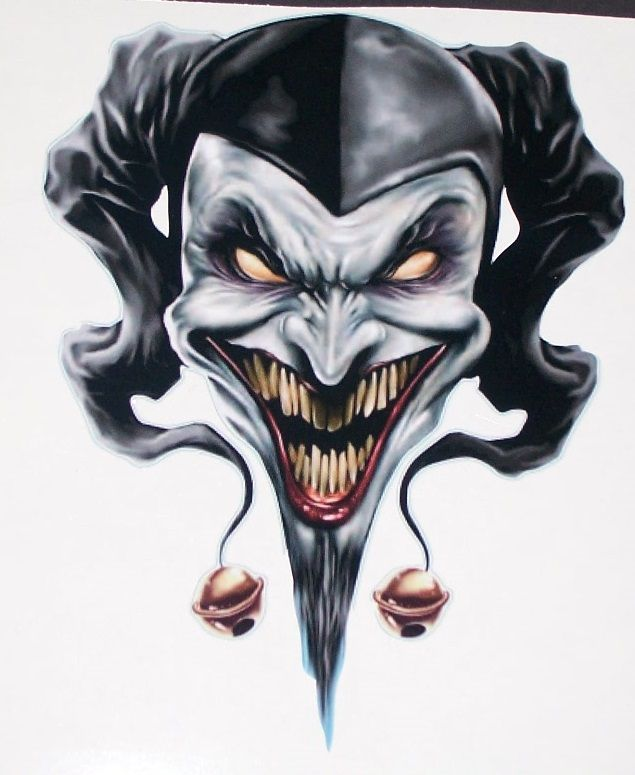 Ssckull clipart wicked Images Jester 25+ tattoo Pinterest