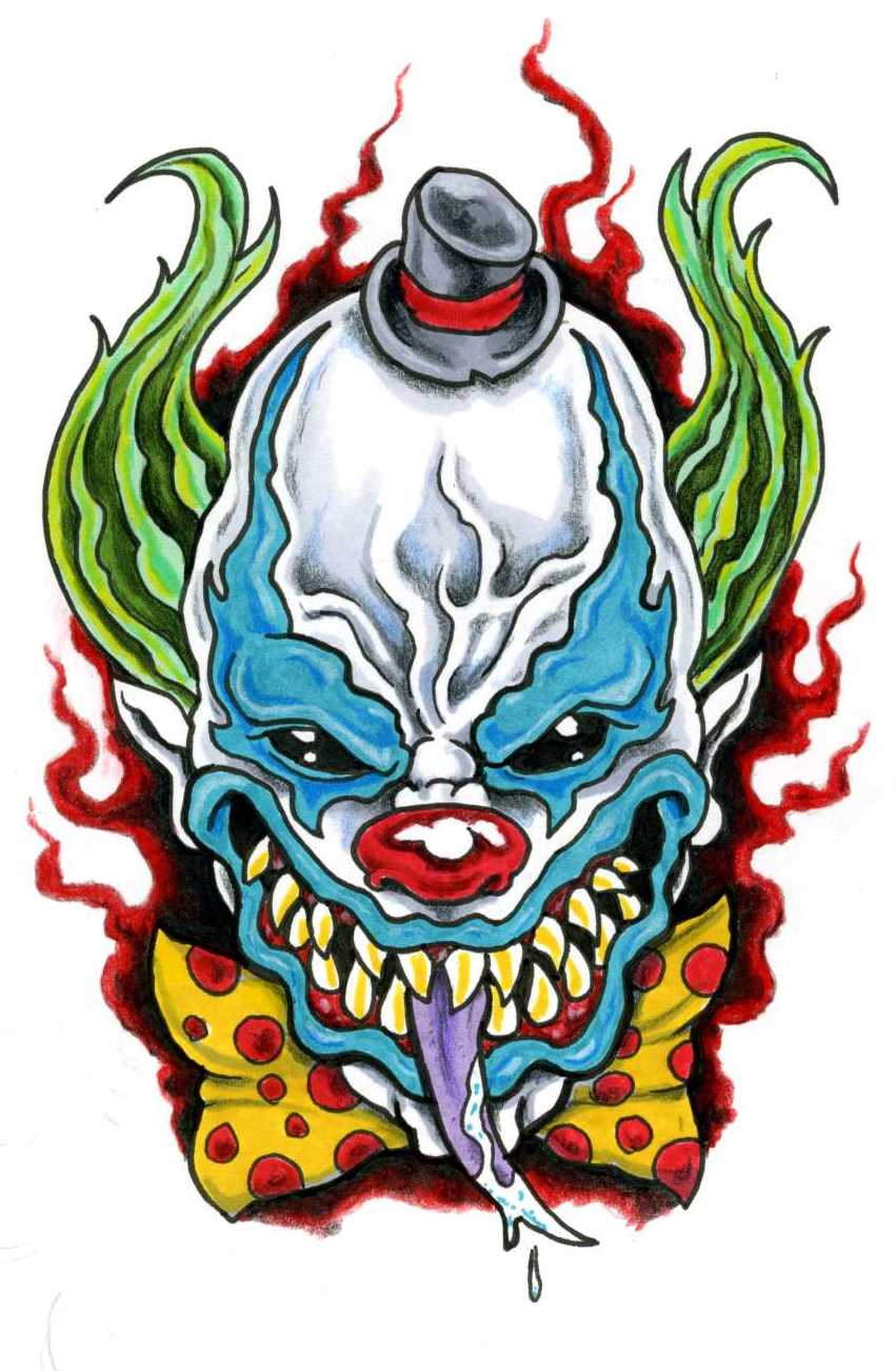 Ssckull clipart wicked Scottkaiser Art Art Jester Wicked