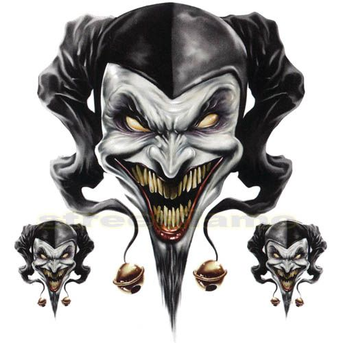 Ssckull clipart wicked Skull Download Creepy Clown Clip