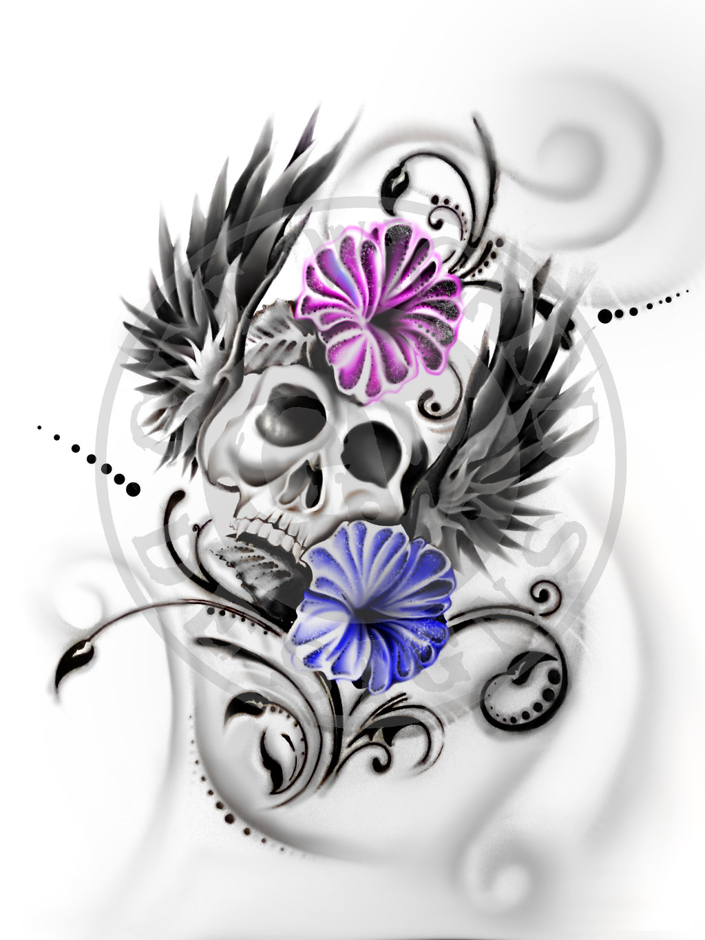 Ssckull clipart wicked Skull  Designs Explore DeviantArt