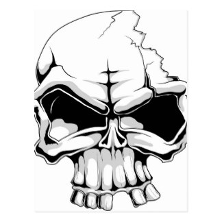 Ssckull clipart wicked Head Skull Skulls Zazzle Postcards