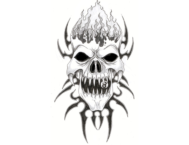 Ssckull clipart wicked Evil Art Art Pictures Evil