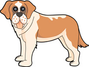 St. Bernard clipart Size: 71 From: dog Results