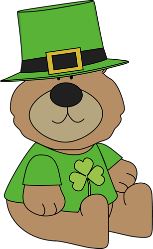 St. Patrick's Day clipart Saint Day Saint Bear Images