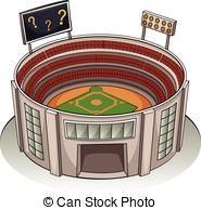 Stadium clipart  a vector  A
