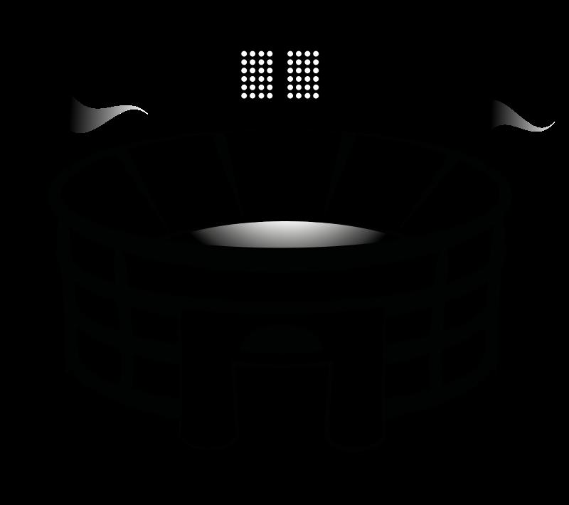Stadium clipart black and white Images Clipart Stadium Clip Free