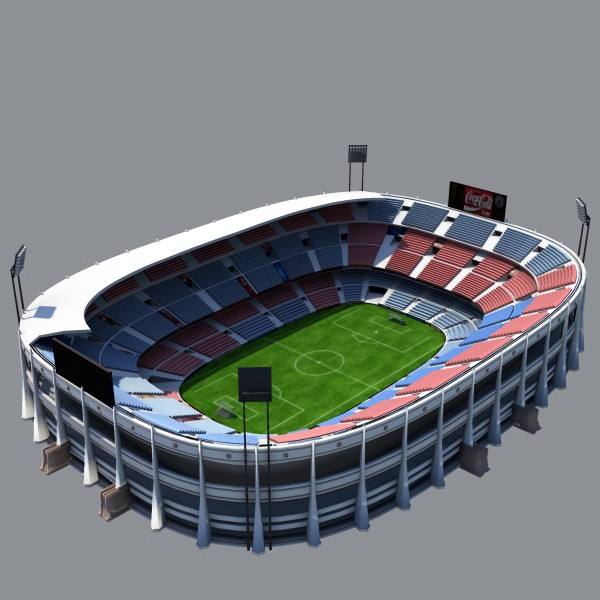 Stadium clipart 3d model Obj stadium Max Model Available