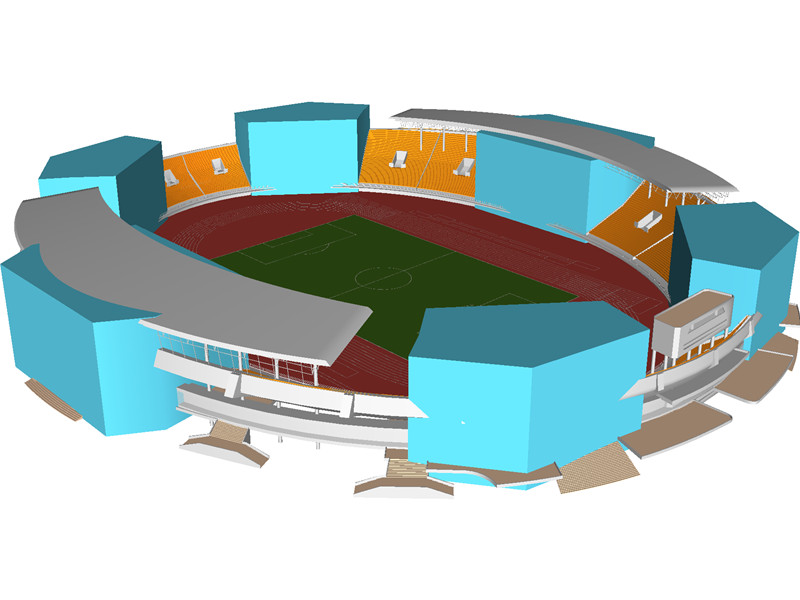 Stadium clipart 3d model Browser Download Stadium 3D 3D