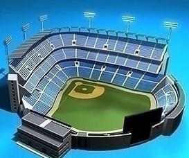 Stadium clipart Stadium baseball stadium Free Clipart