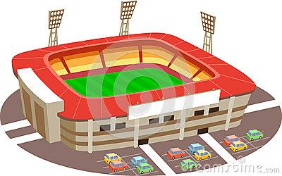 Stadium clipart vector Clipart Art Stadium Clip –
