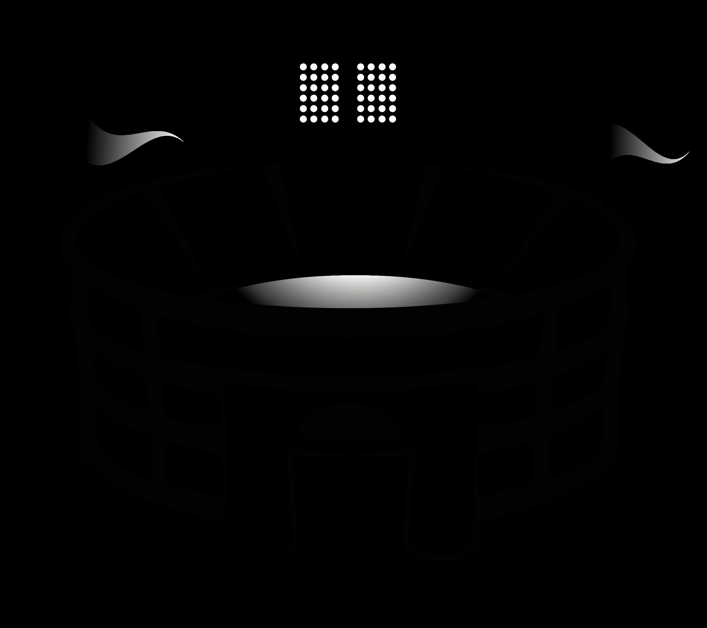Stadium clipart black and white Stadium Clipart Clipart Images Clipart