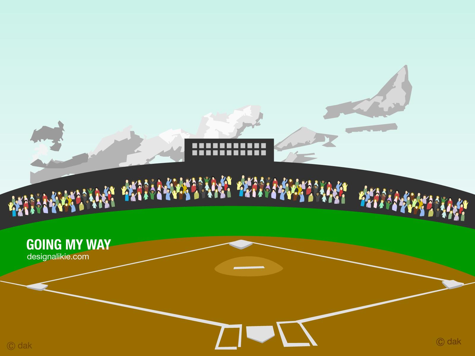 Light clipart baseball stadium Images collection clip Baseball clipart